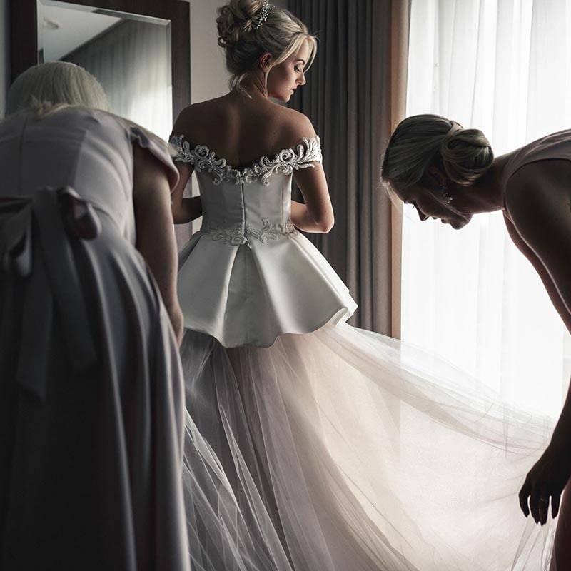 Individuali vestuvinė suknelė